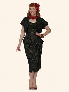 Limited edition 1940's Sarong Dress