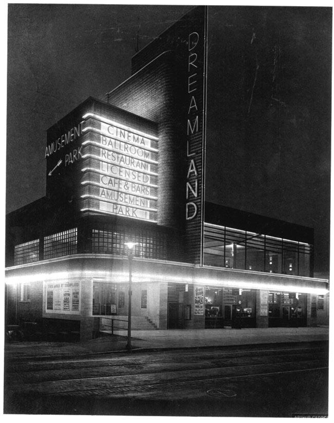 Dreamland in the 1950s, Photo Courtesy Dreamland Media Library