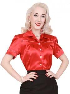 Vivien of Holloway 1940s Blouse