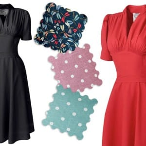 1940s Nazare Dress from Viven of Holloway