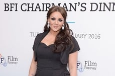 Martine McCutcheon wears Vivien of Holloway at the BFI Chairman's Dinner February 2016