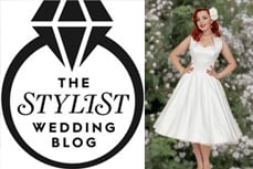 Vivien of Holloway features in Stylist Magazine's wedding blog in the top 10 alternative bridal dress shops
