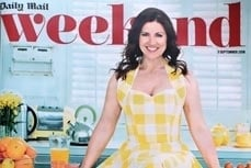 Susanna Reid wearing Vivien of Holloway dress in the Daily Mail Magazine