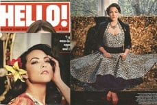 Vivien of Holloway in Hello magazine, 13 may 2013