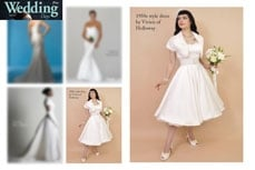 Vivien of Holloway in Wedding days Magazine, january 2010