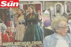 Vivien of Holloway featured in The Sun, 29 May 2015