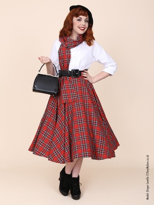 Back in stock, the classic Red Tartan!