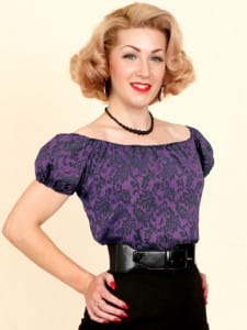 New Purple Lace Classic Gypsy Top