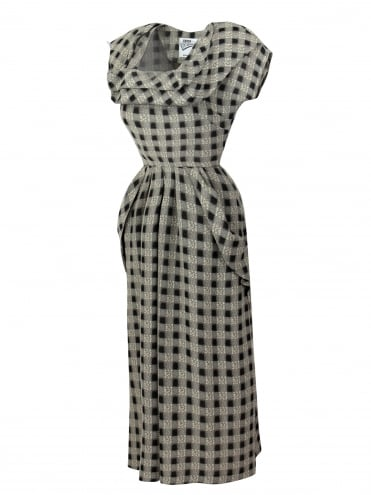 50s-1950s-1940s-40s-Vivien-of-Holloway-Best-Vintage-Style-Reproduction-1940s-Lana-Dress-Gingham-Black-Rockabilly-Pinup-Pinupgirl-vintage-vintagestyle-Rocker-Jive