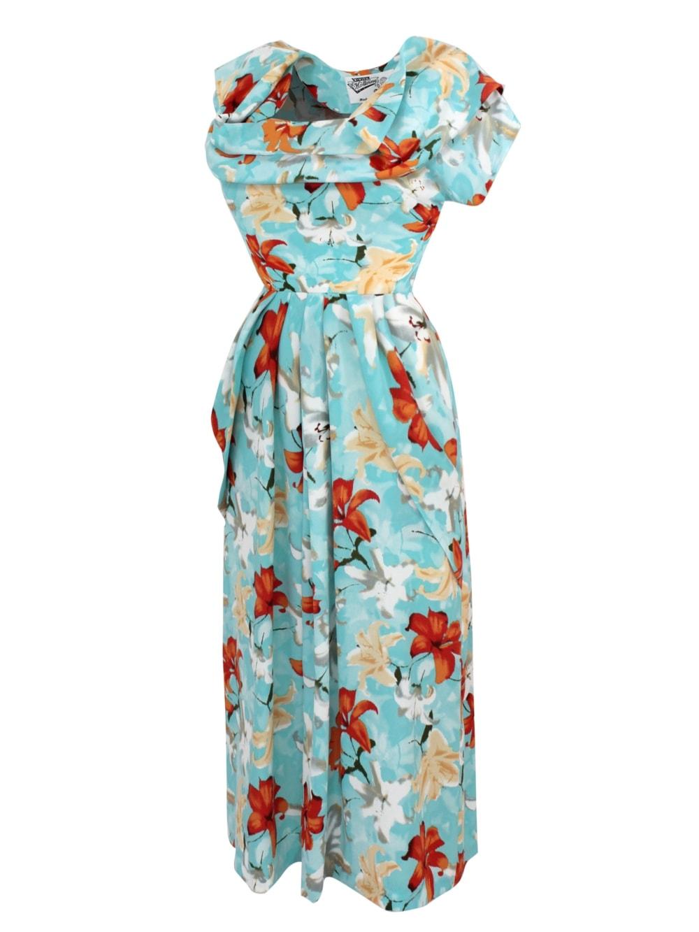 e03242b867d13 1940s Dress Lana Hermonie Sky From Vivien of Holloway