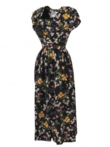 1940s Dress Lana Parklife Black