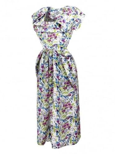 1940s Dress Lana Violet