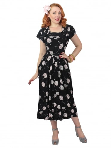1940s Lana Dress Allium