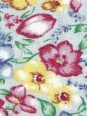 1940s Style Tea Dress Floral Blue