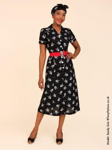 1940s Style Tea Dress Pirate