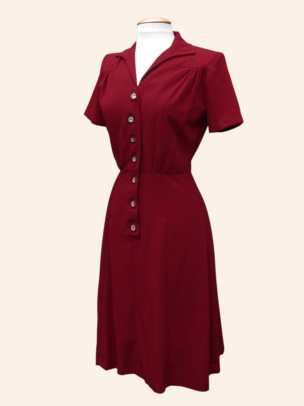 1940s Day Wear: 1940s Day Tea Dress From Vivien Of Holloway