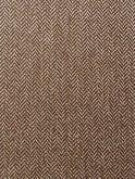 1940s Swing Trousers Small Herringbone Brown