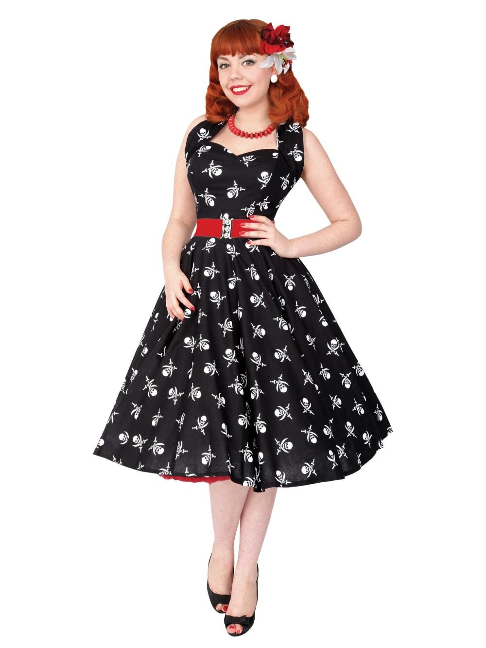 1950s Halterneck Pirate Dress From Vivien Of Holloway