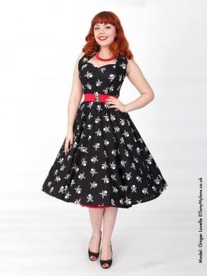 1950s Halterneck Pirate Dress