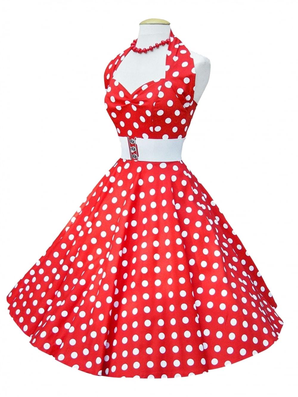 d79042101e Red White Polka Dot Dress - Dress Nour