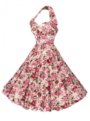 1950s Halterneck Roseanna Dress