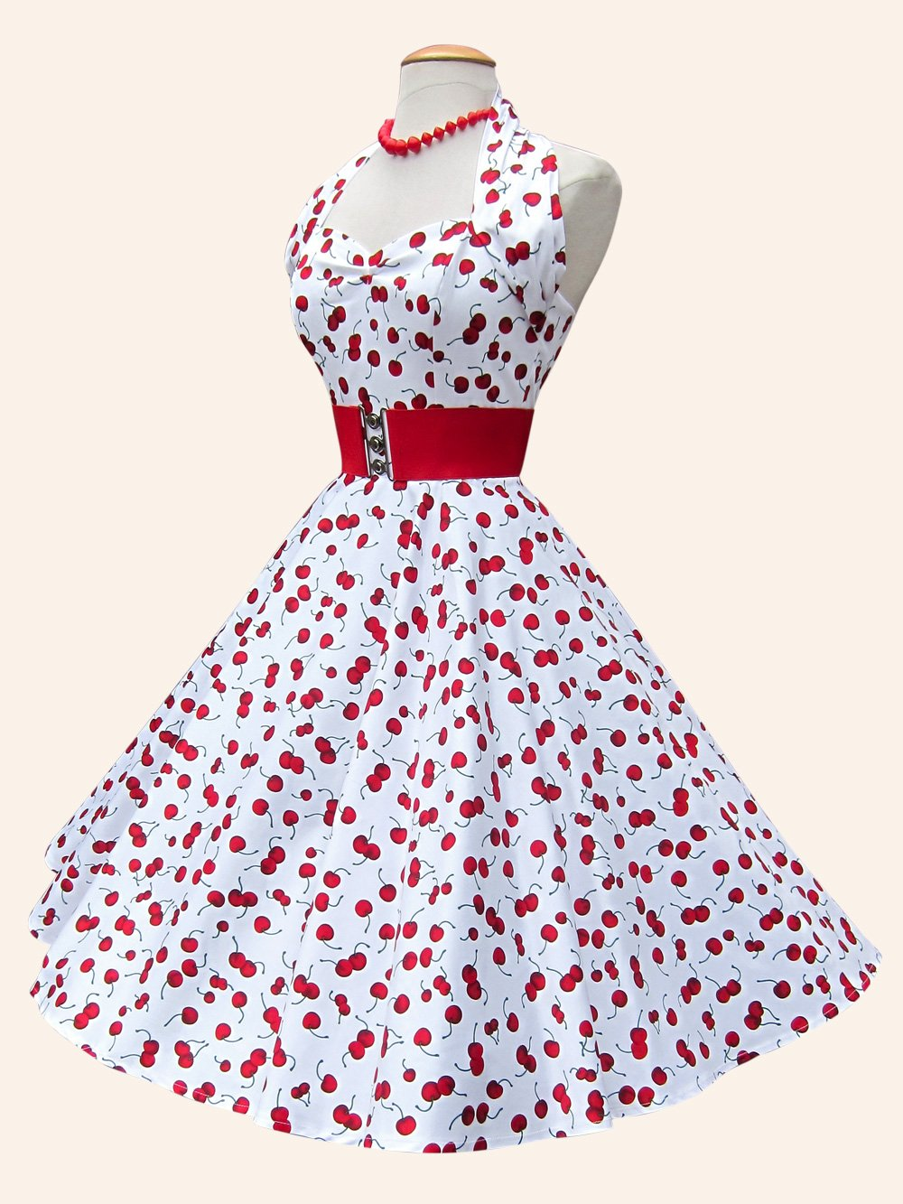 View all dresses view all 1950s halterneck circle dress view