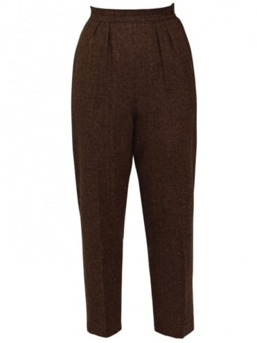 50s-1950s-Trousers-Brown-Fleck-Vivien-of-Holloway-swing-pinup-rockabilly