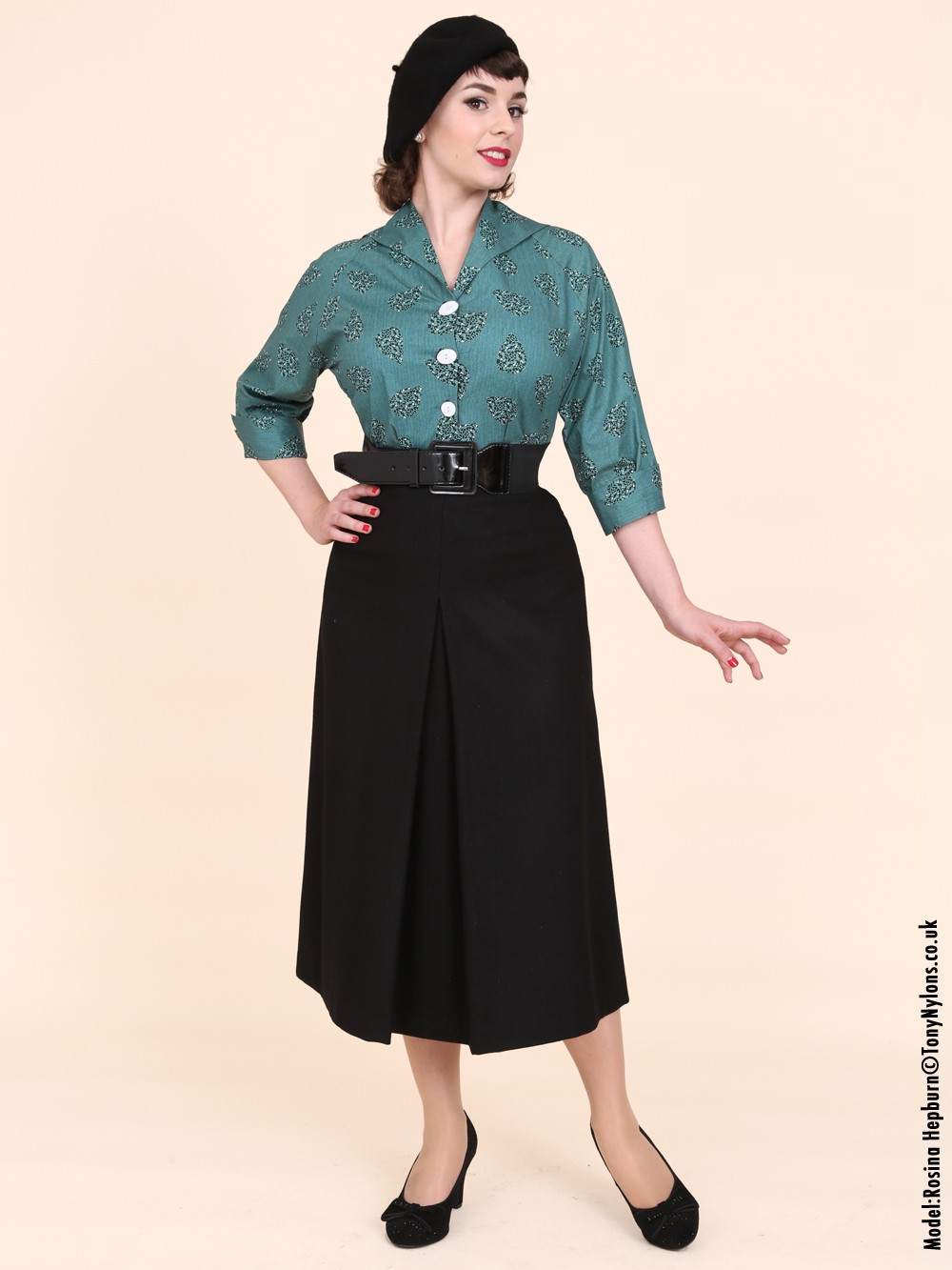 Images of Black Aline Skirt - Watch Out, There's a Clothes About