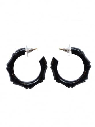 ion-Repro-Bamboo-Hoop-Black-Earringsl-Rockabilly-Swing-Pinup