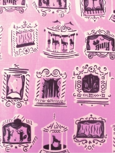 Bandana Carousel Pink