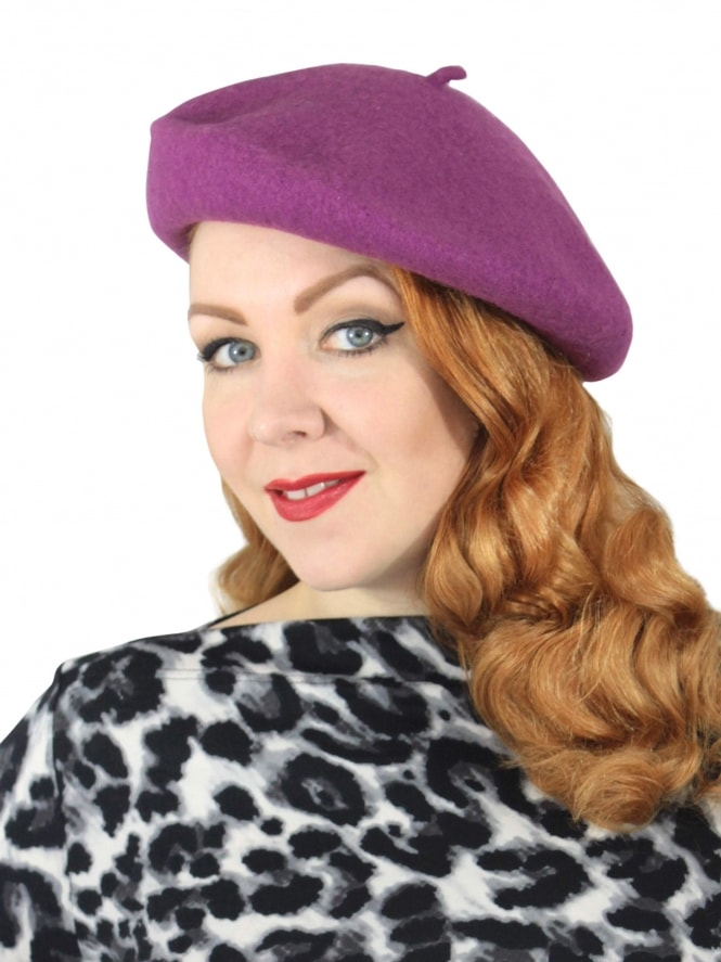 Beret - Mulberry