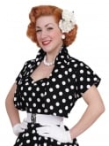 Bolero Black White Polka