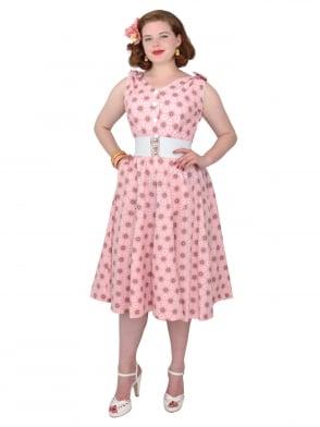 Bonnie Dress Pink Spiral