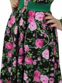 Bonnie Dress Rosa Black
