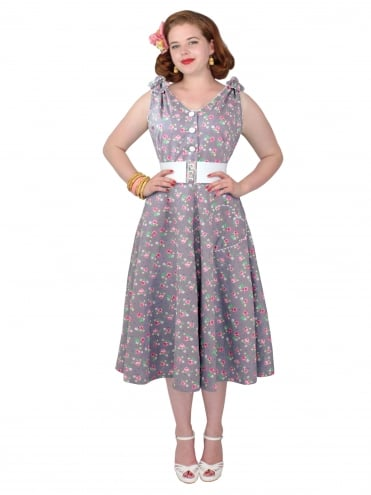 50s-1950s-Vivien-of-Holloway-Best-Vintage-Reproduction-Bonnie-Dress-Pink-Rose-Grey-Sundress-Rockabilly-Swing-Pinup-Pinupgirl-Pinupgirldress-Heart-Shaped-Pocket