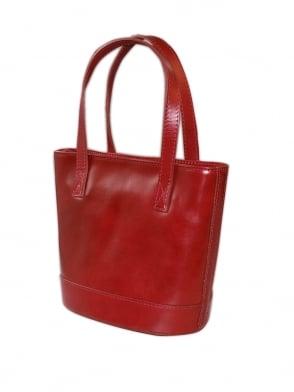 Bucket Handbag Red