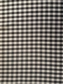 Circle Skirt Black White Gingham