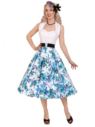 Circle Skirt Blue Orchid