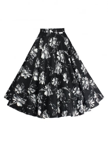 1950s-Circle-Skirt-DaisyBlack-Rockabilly-Swing-Pinup