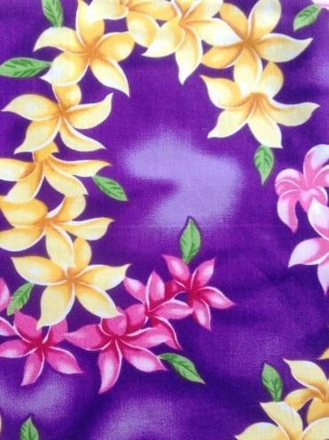 Circle Skirt Garland Purple