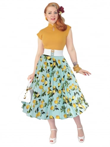 Circle Skirt Lemons