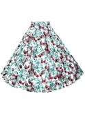 Circle Skirt Leopard Lily