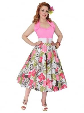 Circle Skirt Olea Floral
