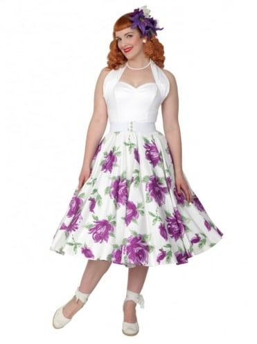 Circle Skirt Victory Rose Purple