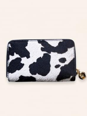 Cow Print Purse