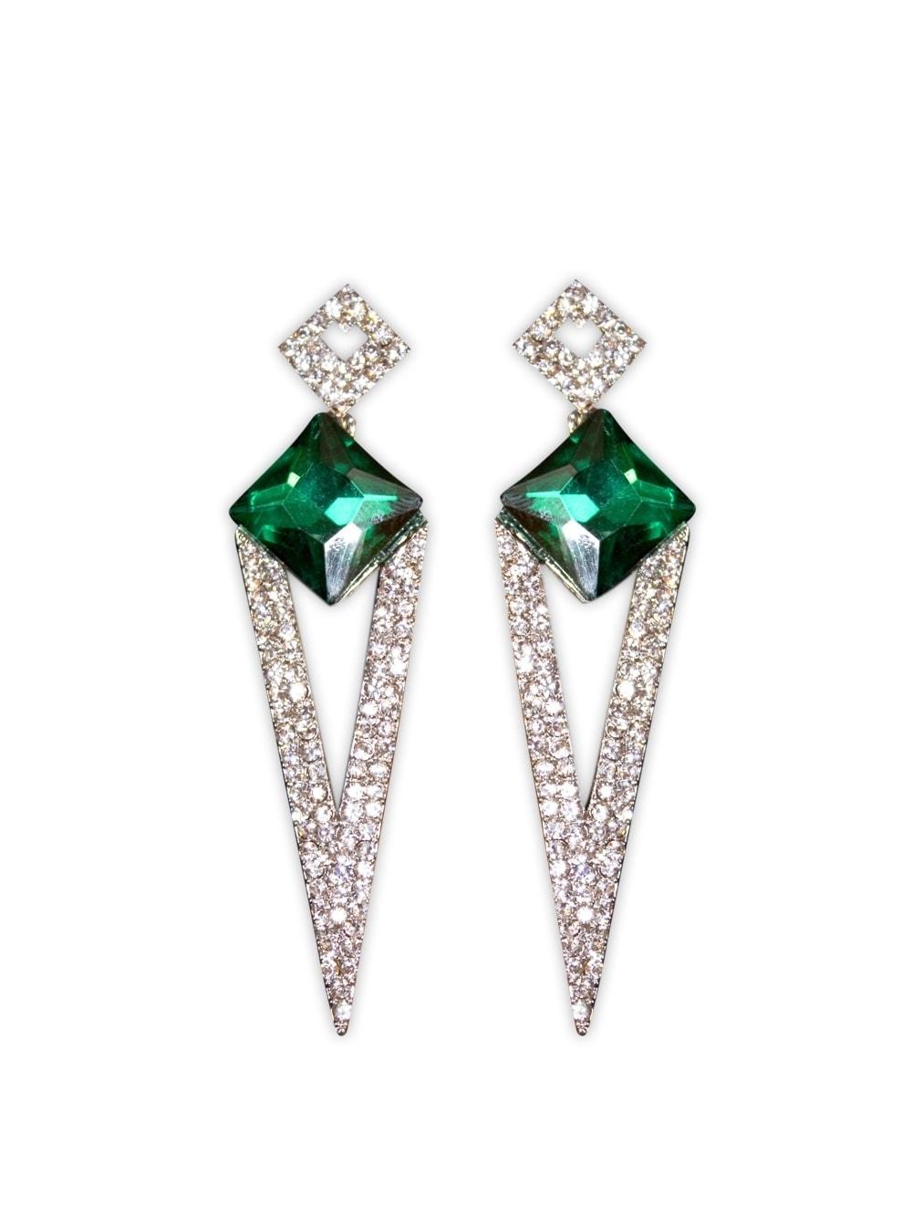 dee99912d24 Deco Diamante Earrings