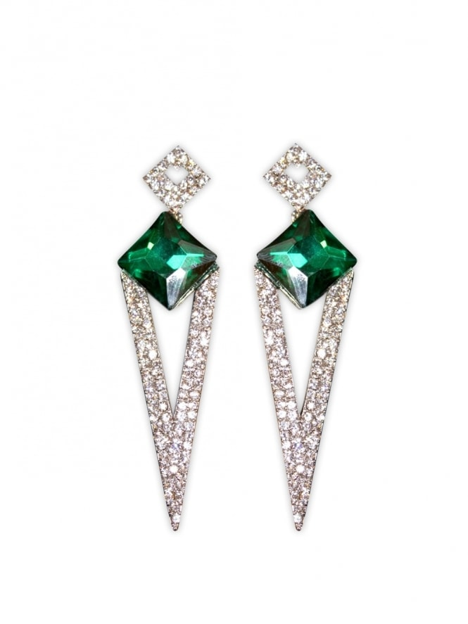Deco Diamante Earrings