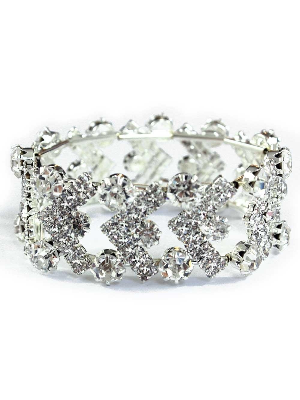 Deco Diamante Expandable Bracelet