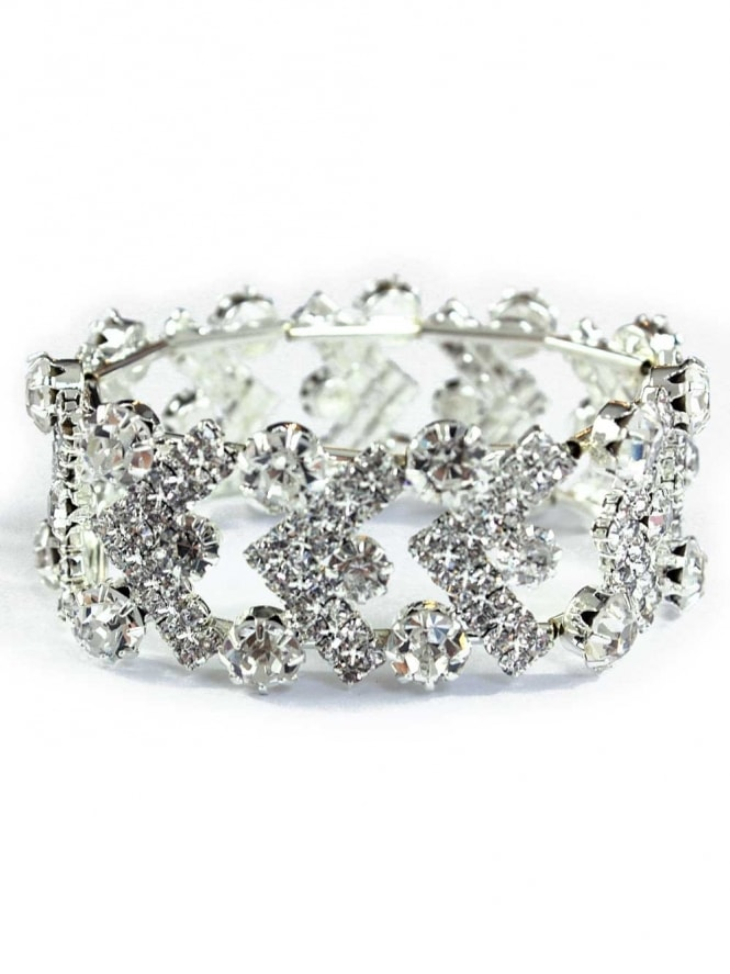 Deco Diamante Expandable Bracelet