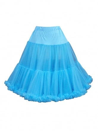 Deluxe Petticoat Light Blue